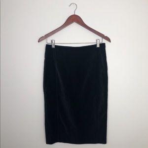 NEW Club Monaco velvet Georgia skirt jupe